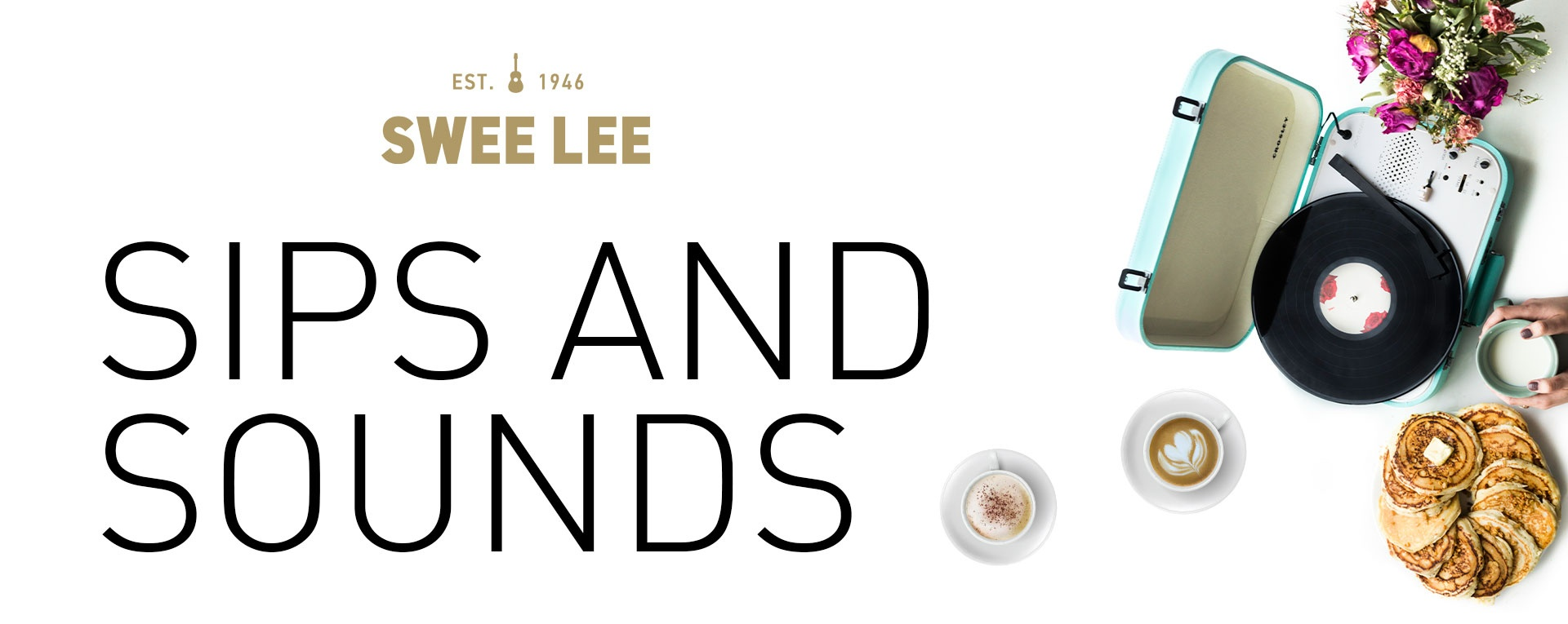 Sips and Sounds: Explore vinyl with Swee Lee Music