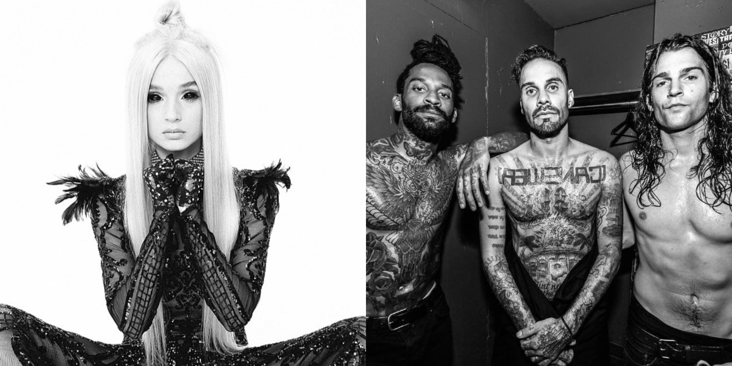 POPPY and Fever 333 collaborate on heavy, perplexing track, 'Scary Mask' – listen