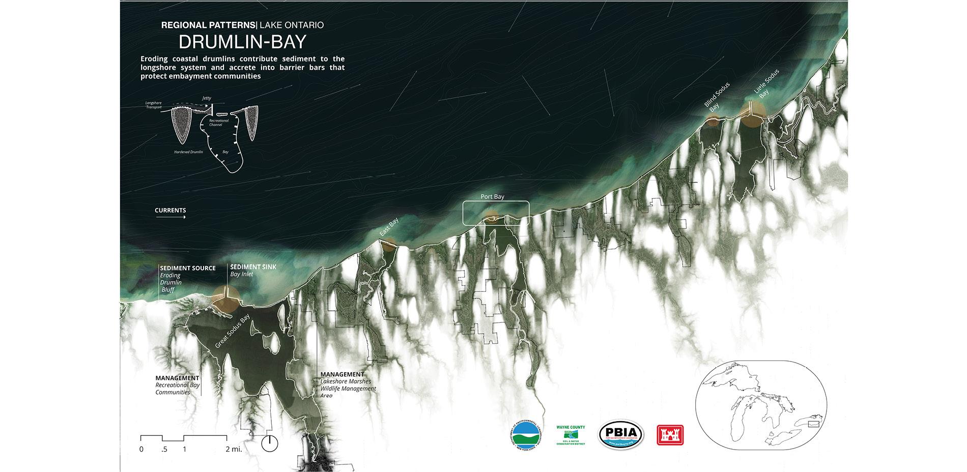 Drumlin Bay Complex: Regional Patterns