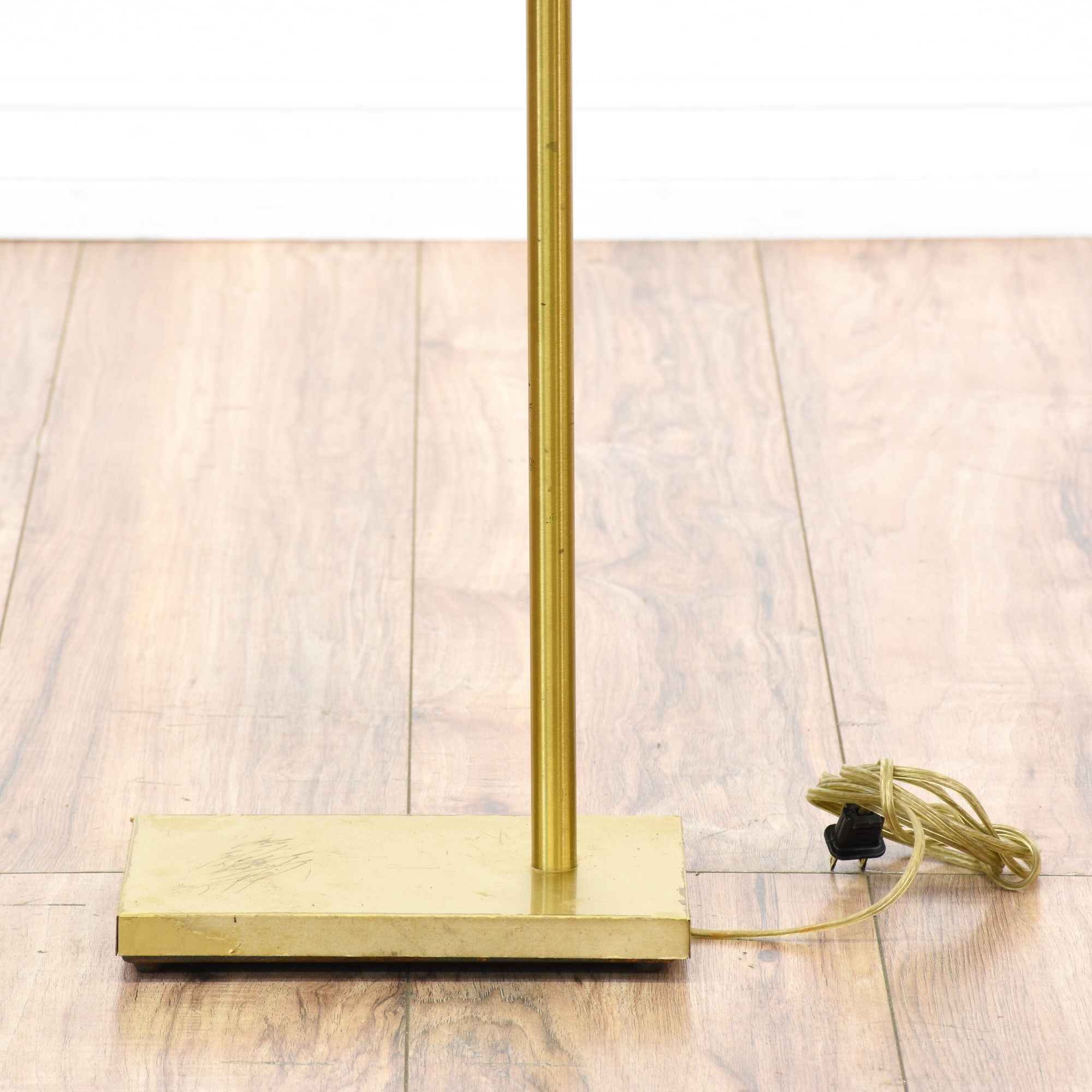 Brass Floor Lamp Mid Century: Mid Century Modern Brass Floor Lamp 4