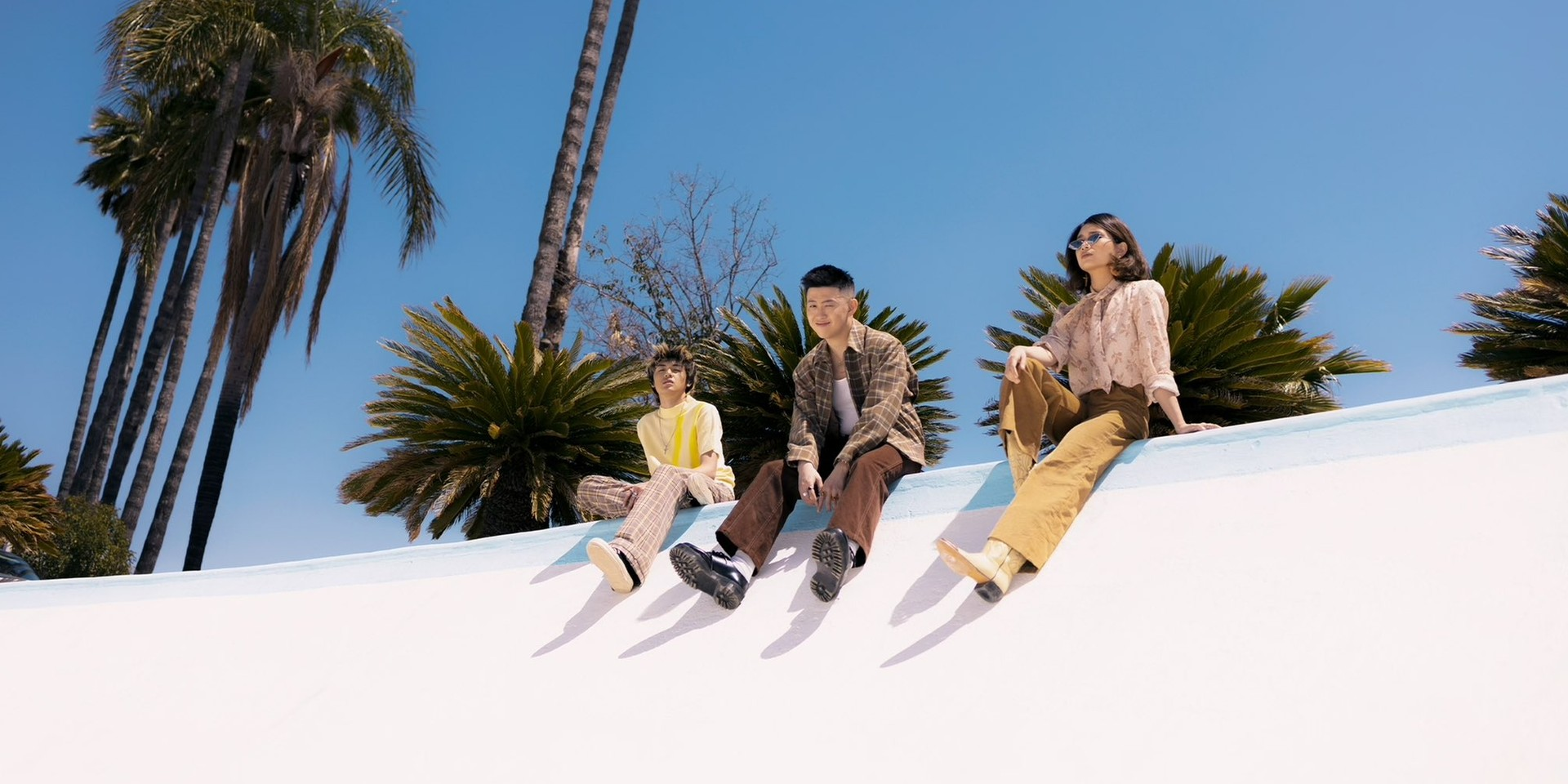 Rich Brian, NIKI, and Warren Hue release collaborative single 'California' for 88rising's 'Head In The Clouds 3' — watch