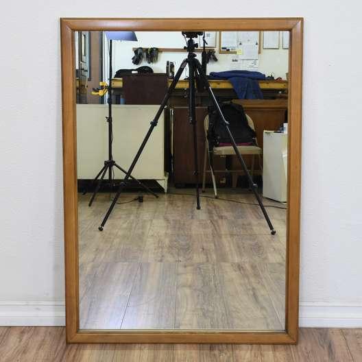 Simple Mid Century Modern Mirror