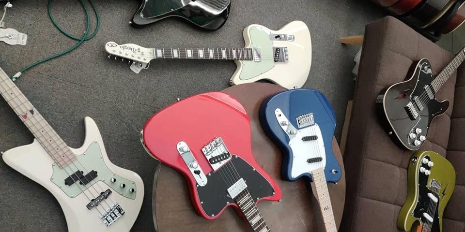 D&D Custom Guitars to launch new signatures at 123 Block Market