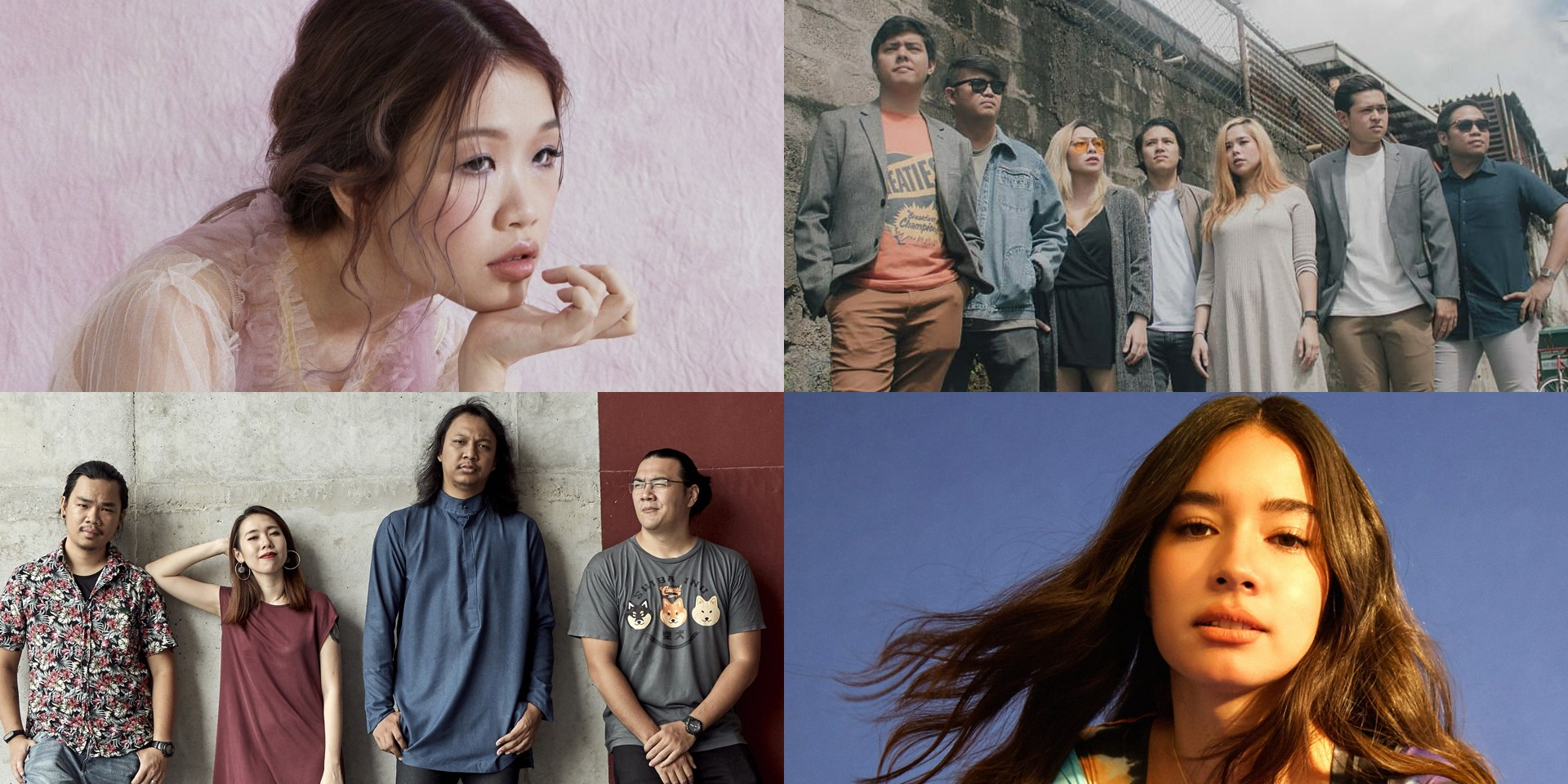 ASEAN Music Showcase Festival makes online launch with Valentina Ploy, Cheats, Linying, mutesite, and more