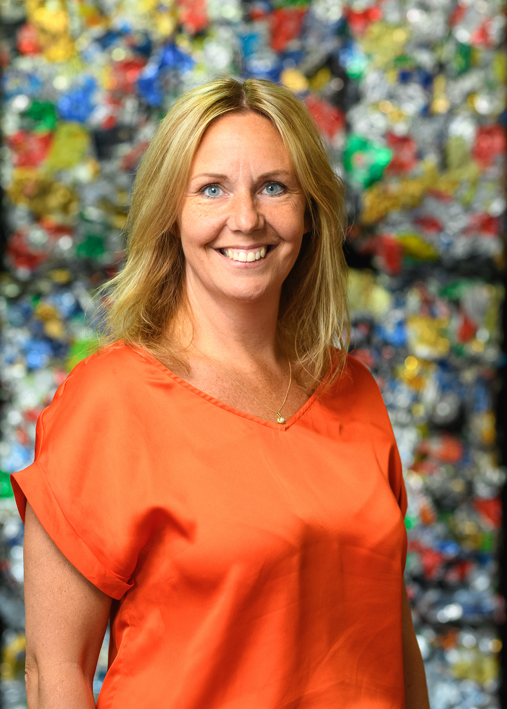 Ulrika Magnusson HR- och Hållbarhetschef Foto: Crelle Fotograf