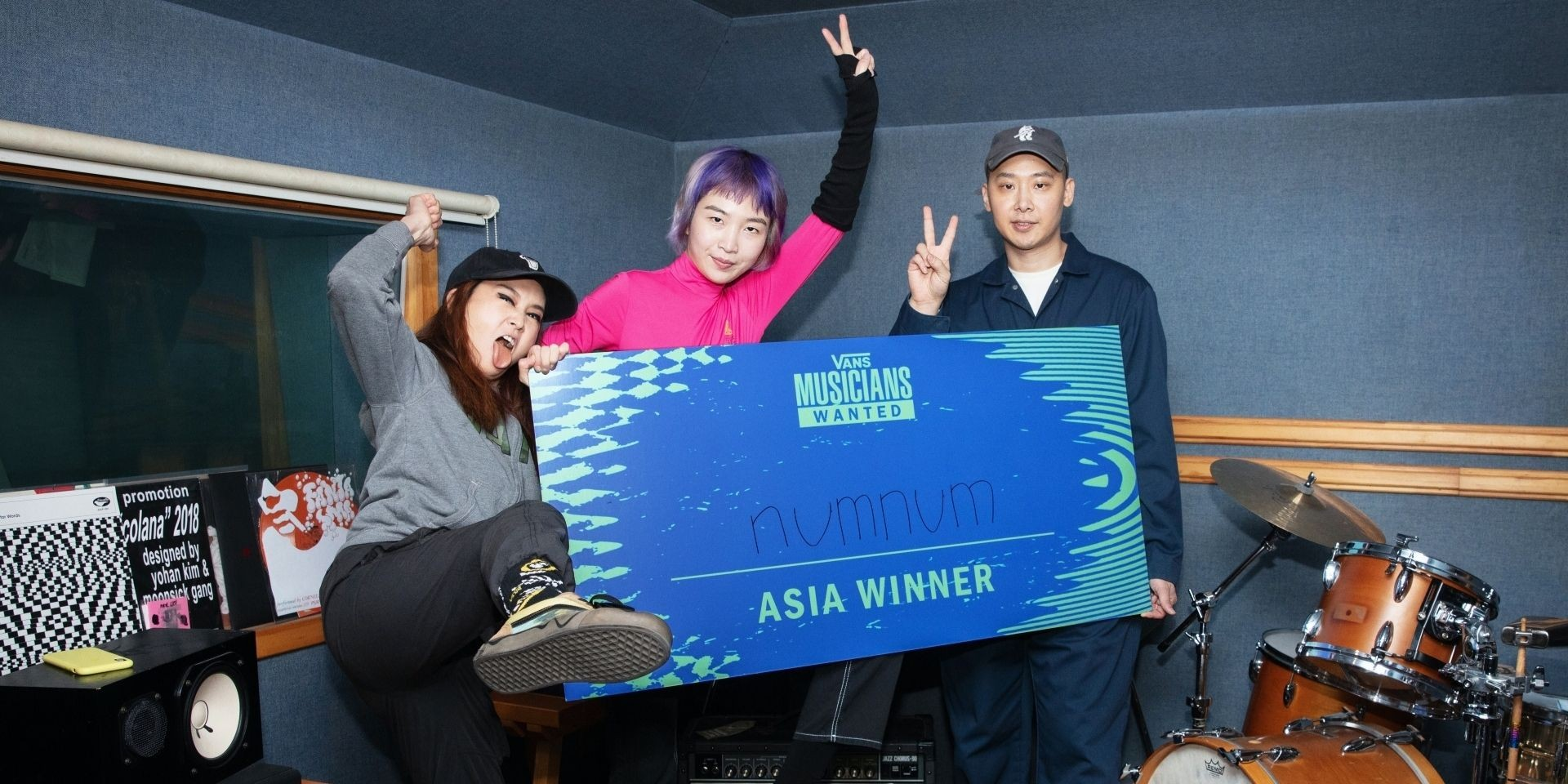Vans Musicians Wanted crowns Korean band numnum as the Asia-Pacific Winner