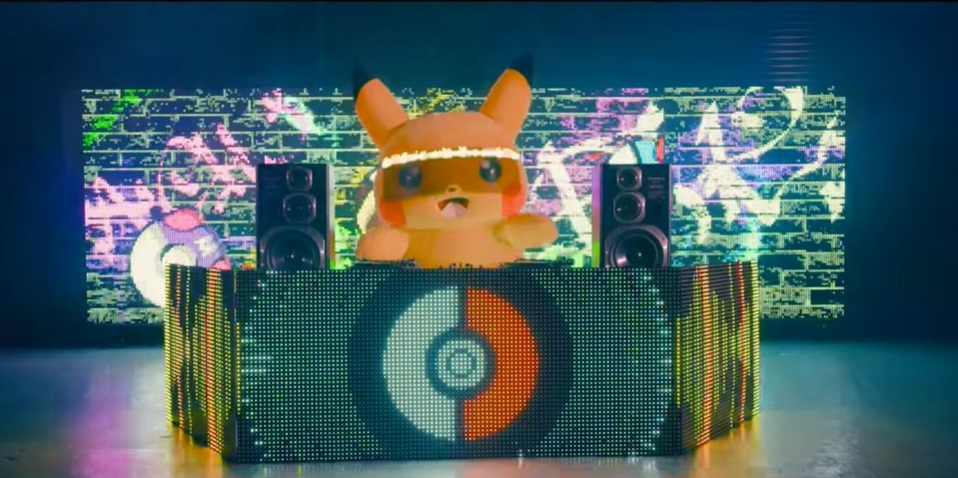 DJ Pikachu electrifies with 'Lightning Remix' and stunning light show – watch