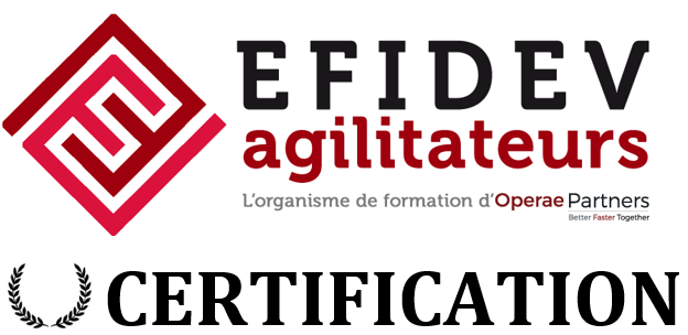 Certification Efidev