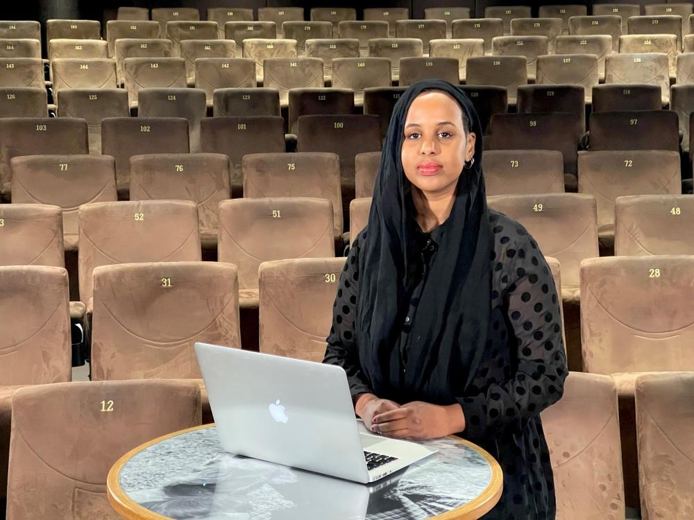Journalisten Bilan Osman var en av dagens moderatorer. Foto: CMDS