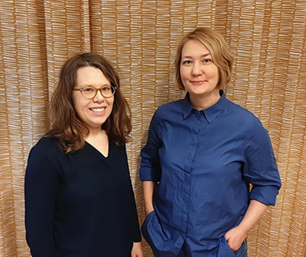 Kajsa Bäckius och Sofia Gydemo, Sbi. Foto: Sbi