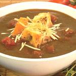 Tomato-Eggplant Soup