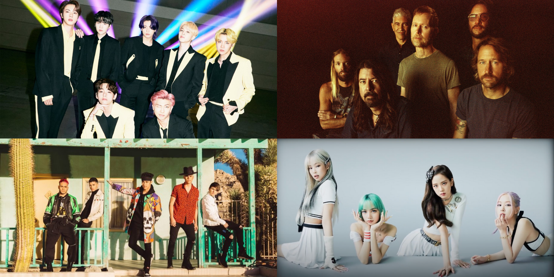 BTS, BLACKPINK, Foo Fighters, CNCO, and more nominated for Group of the Year at the 2021 MTV Video Music Awards
