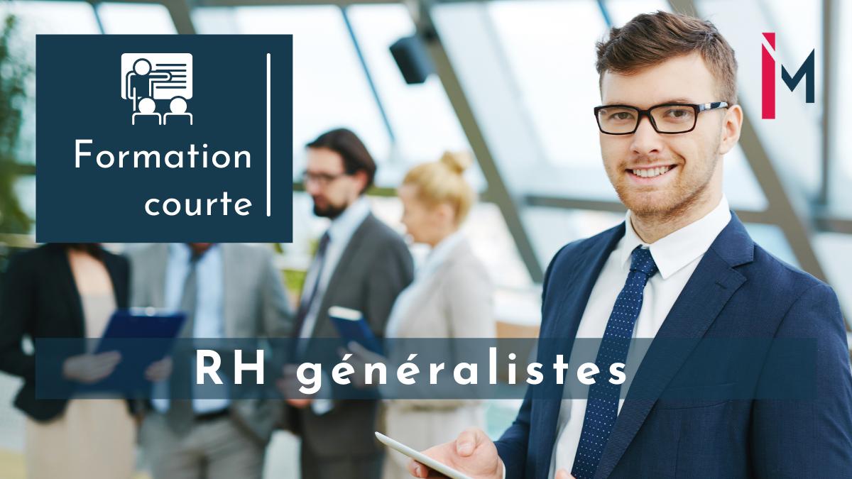 Représentation de la formation : Management RH de la performance formation courte