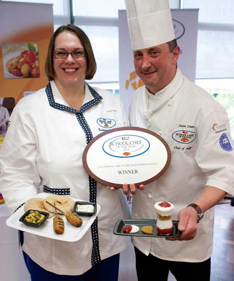 Suzanne Duncan, School chef of the Year2010