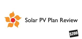 Solar PV Plan Review