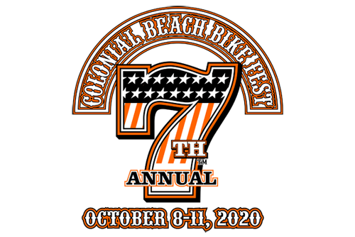 7th Annual Colonial Beach Bike Fest - October 8-11, 2020