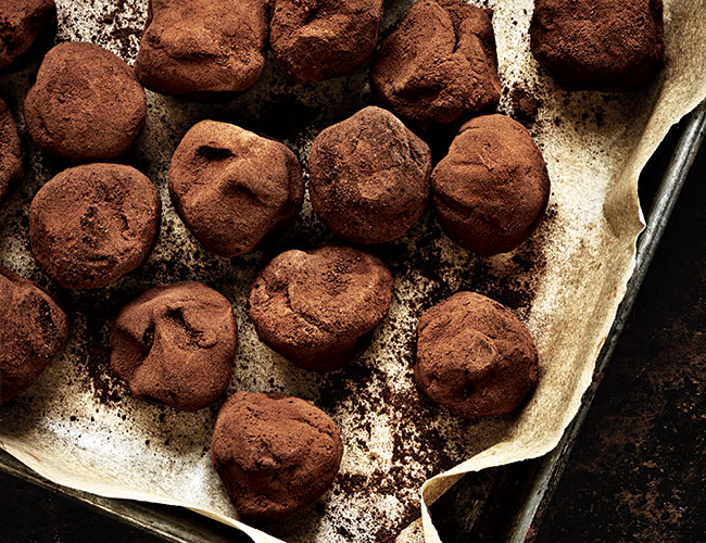 Muscovado truffles by Paul A Young