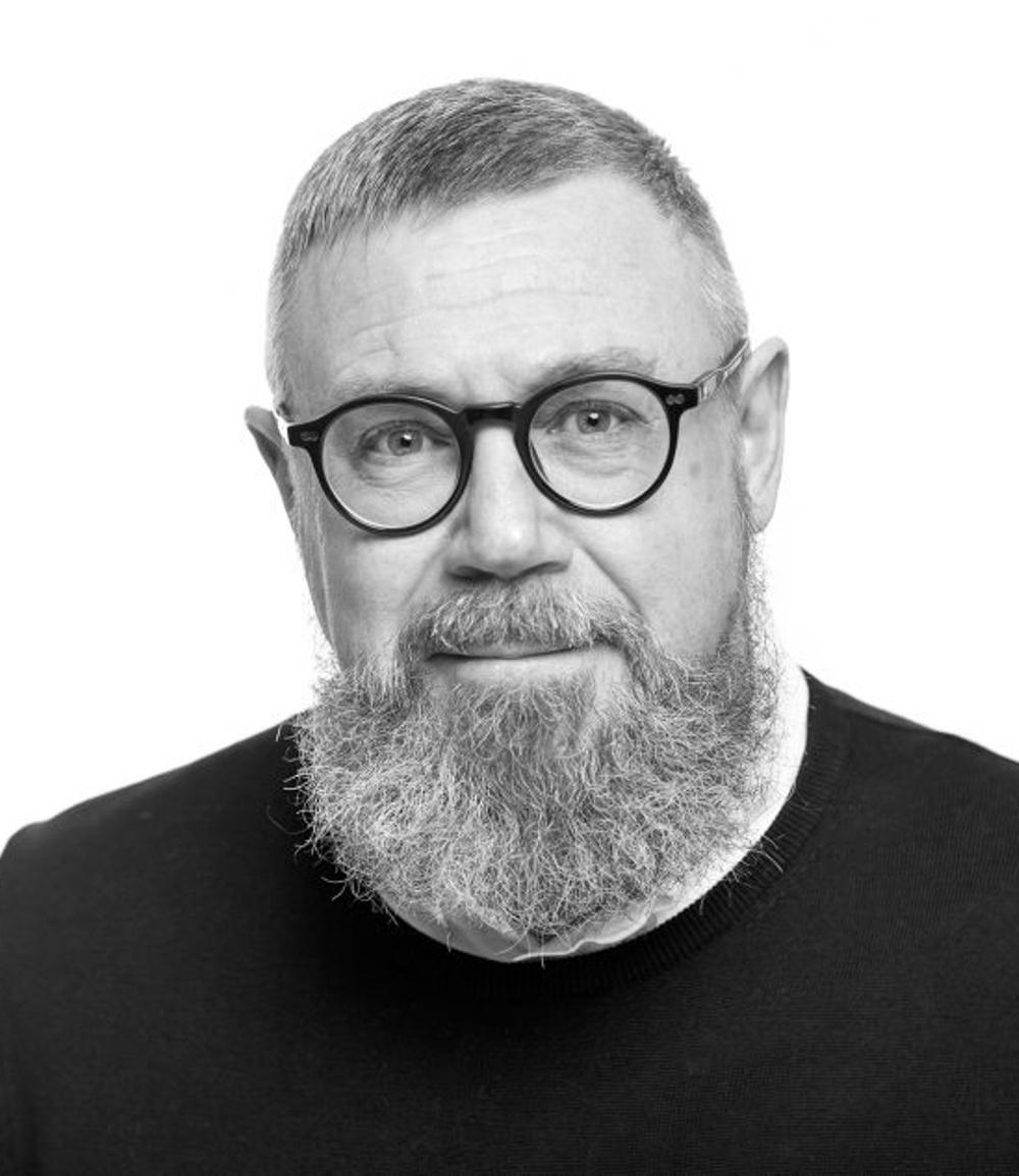 Jonas Lundqvist, kommunikatör Nordiskt Berättarcentrum. Foto: Patrick Degerman.