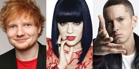 Eminem, Ed Sheeran and Jessie J rank among Singapore's top workout tracks