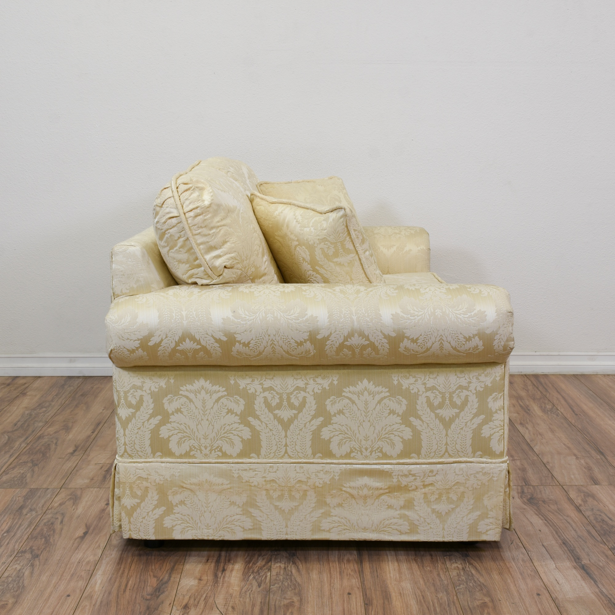 Quot Krause S Quot Cream Floral Damask Loveseat Sofa Loveseat