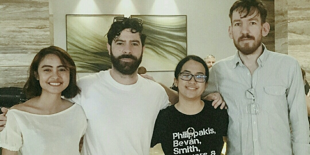 Here's how a fan met her favorite band Foals thrice around the world