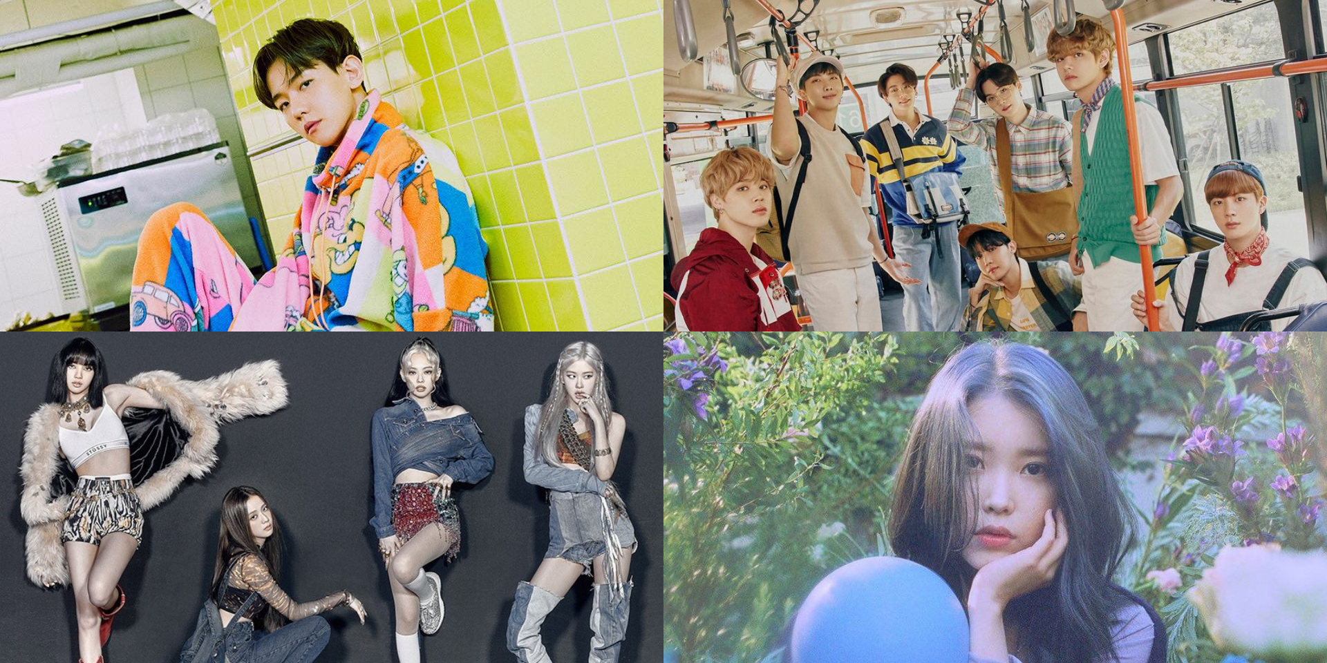 2020 Melon Music Awards announce Top 10 Artists – BLACKPINK, BTS, EXO's Baekhyun, IU, and more, plus full list of nominees