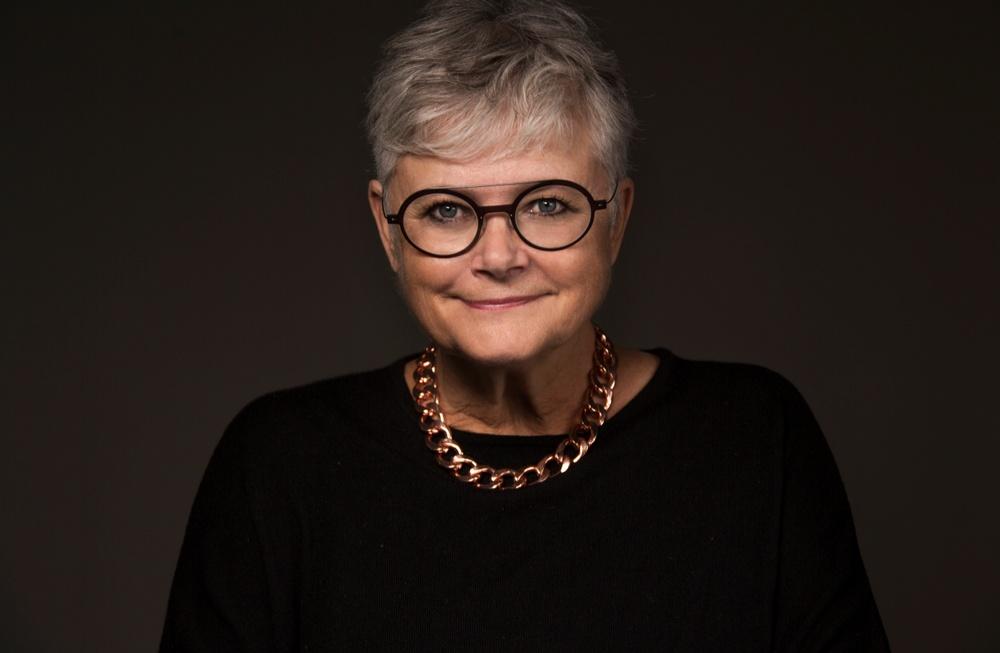 Karin Alfredsson medverkar i Demokratiska arkivet på Berättarfestivalen 2020. Foto: Elisabeth Ohlsson Wallin