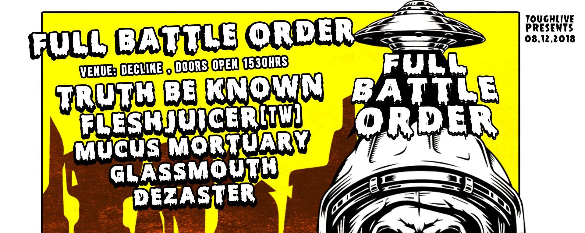 Full Battle Order x FleshJuicer Live in Singapore