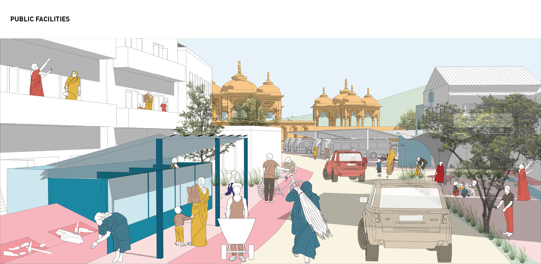 Vision for Type B: Public Facilities and Community Space