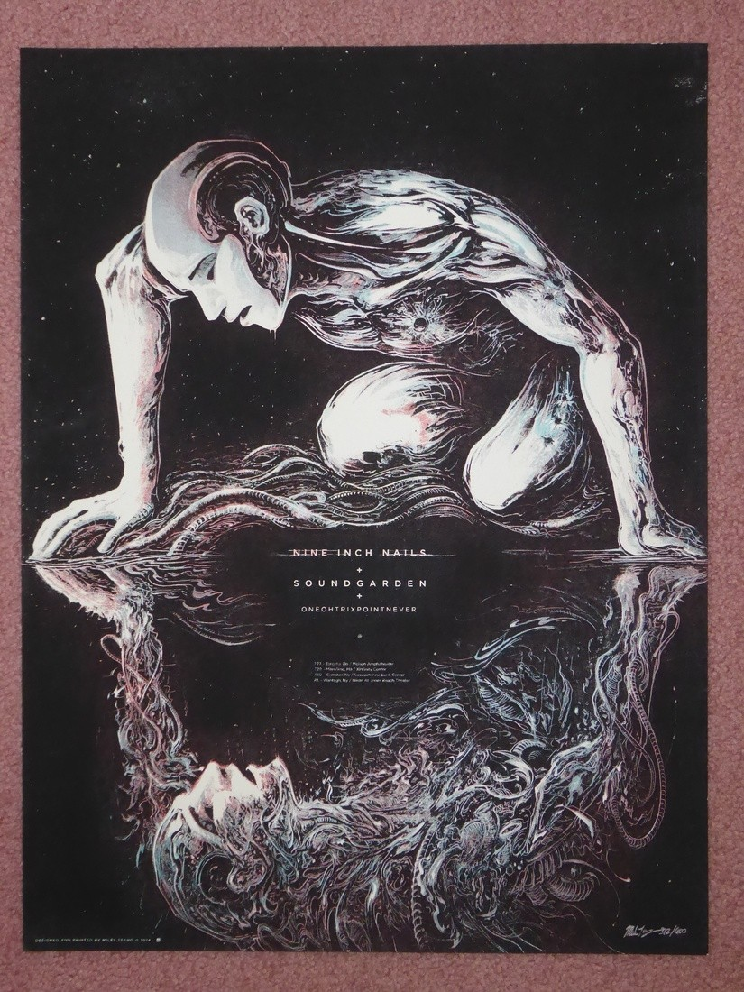 Nine Inch Nails Poster 2014 | Collectionzz