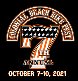 7th Annual Colonial Beach Bike Fest - October 7-10, 2021