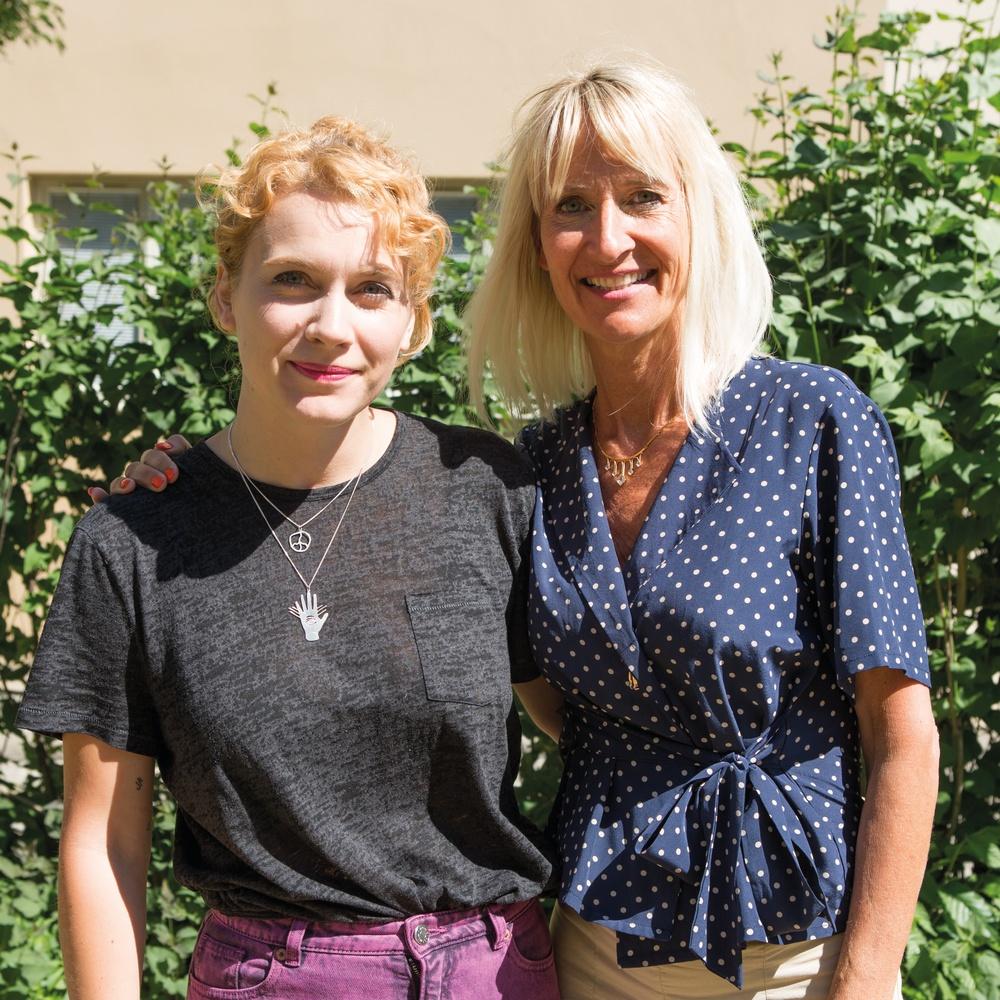 Anna Tascha Larsson medverkar i podden Livet på jorden. Foto: Ninni Westin.