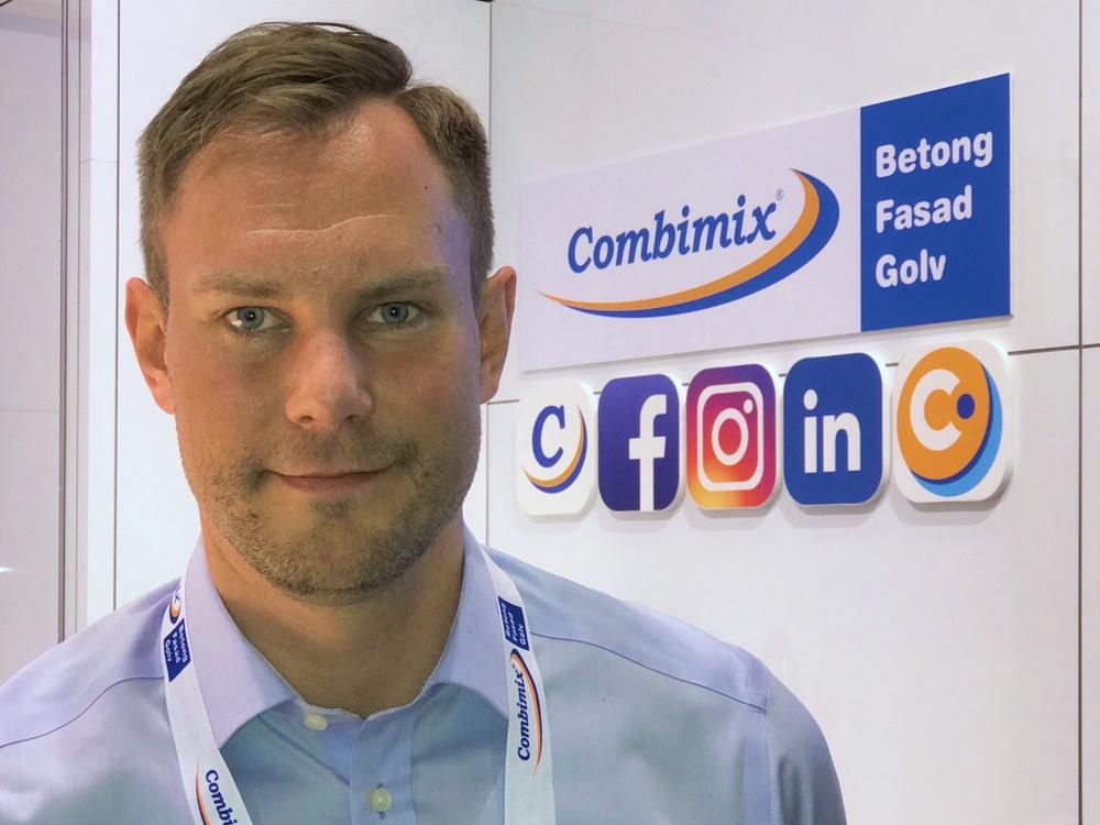 Daniel Lingdahl, Affärsområdeschef på Combimix