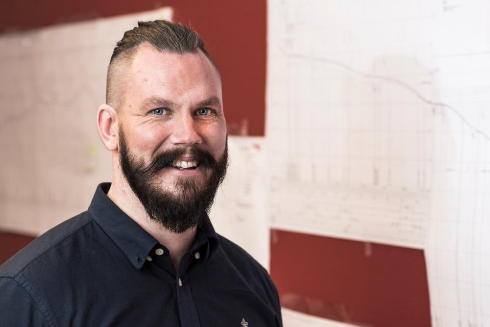 Carl Andersson, affärschef Väg, BDX Företagen AB. Foto: Patrik Öhman.