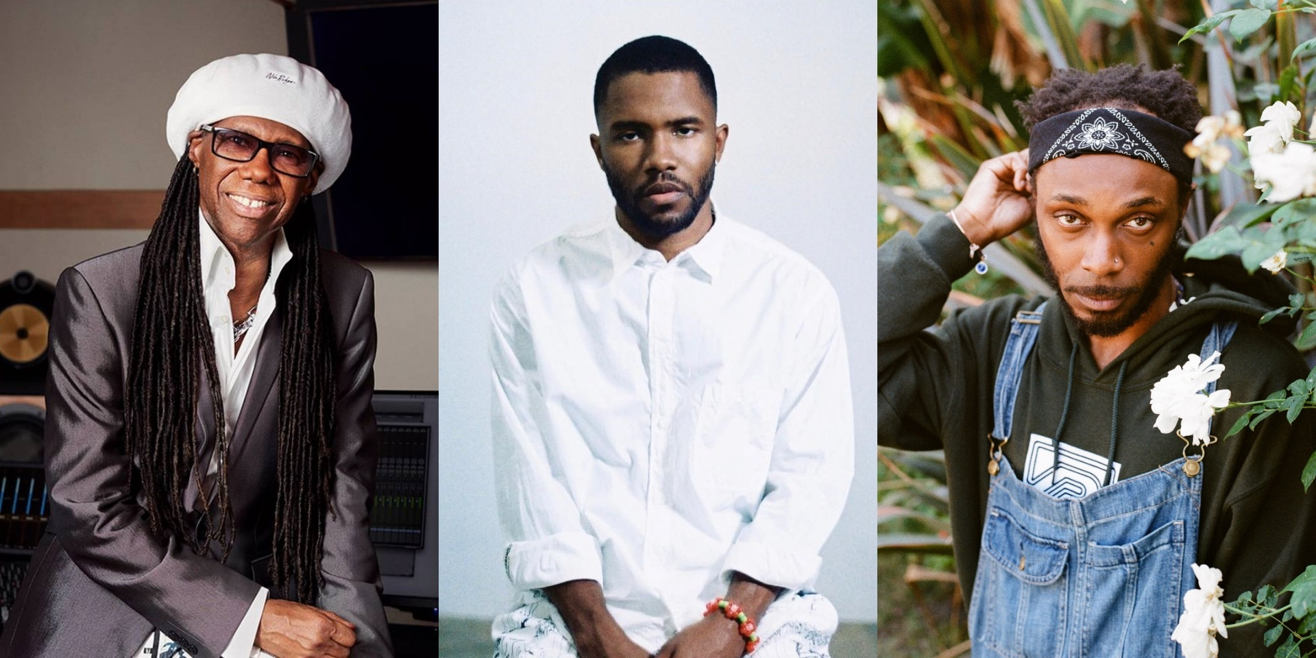 "Frank Ocean gets grilled by fellow artists, reveals that channel ORANGE Vinyl is coming ""ASAP"""