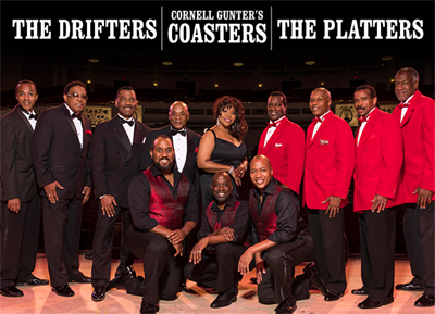 CVAH- The Coasters, The Drifters, The Platters, September 15, 2018, gates open 5:30pm