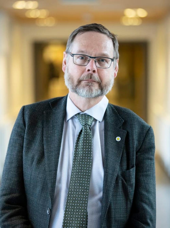 Porträtt av Karlstads universitets rektor Johan Sterte