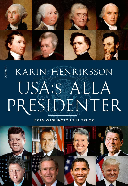 Boksomslag: USA:s alla presidenter - Från Washington till Trump