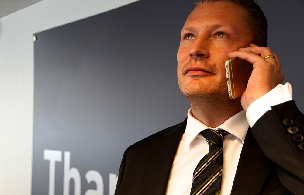 MyBeat, med vd Fredrik Berlin, är en fristående mobiloperatör som också säljer återanvända mobiler.
