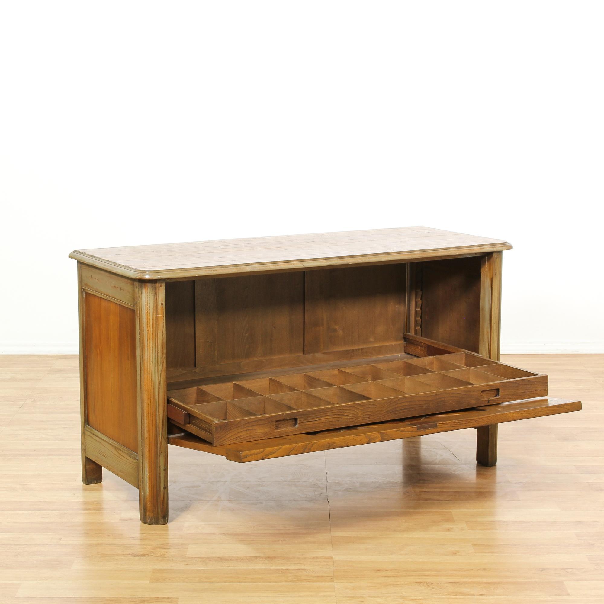 Roche bobois buffet cabinet loveseat vintage furniture for Bar roche bobois