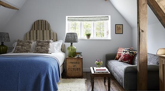 Artist Residence Oxfordshire bedroom