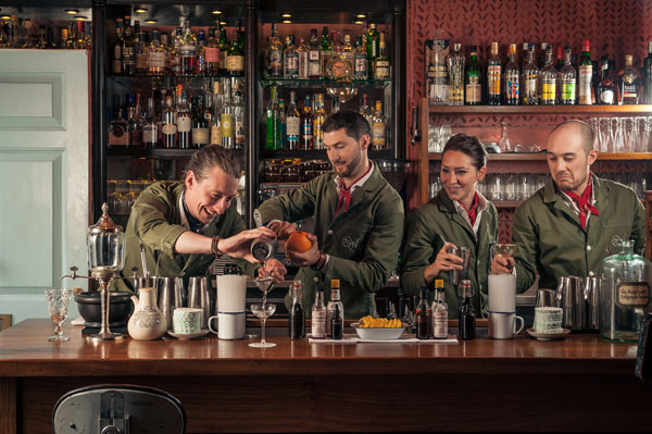 Staff at the Zetter