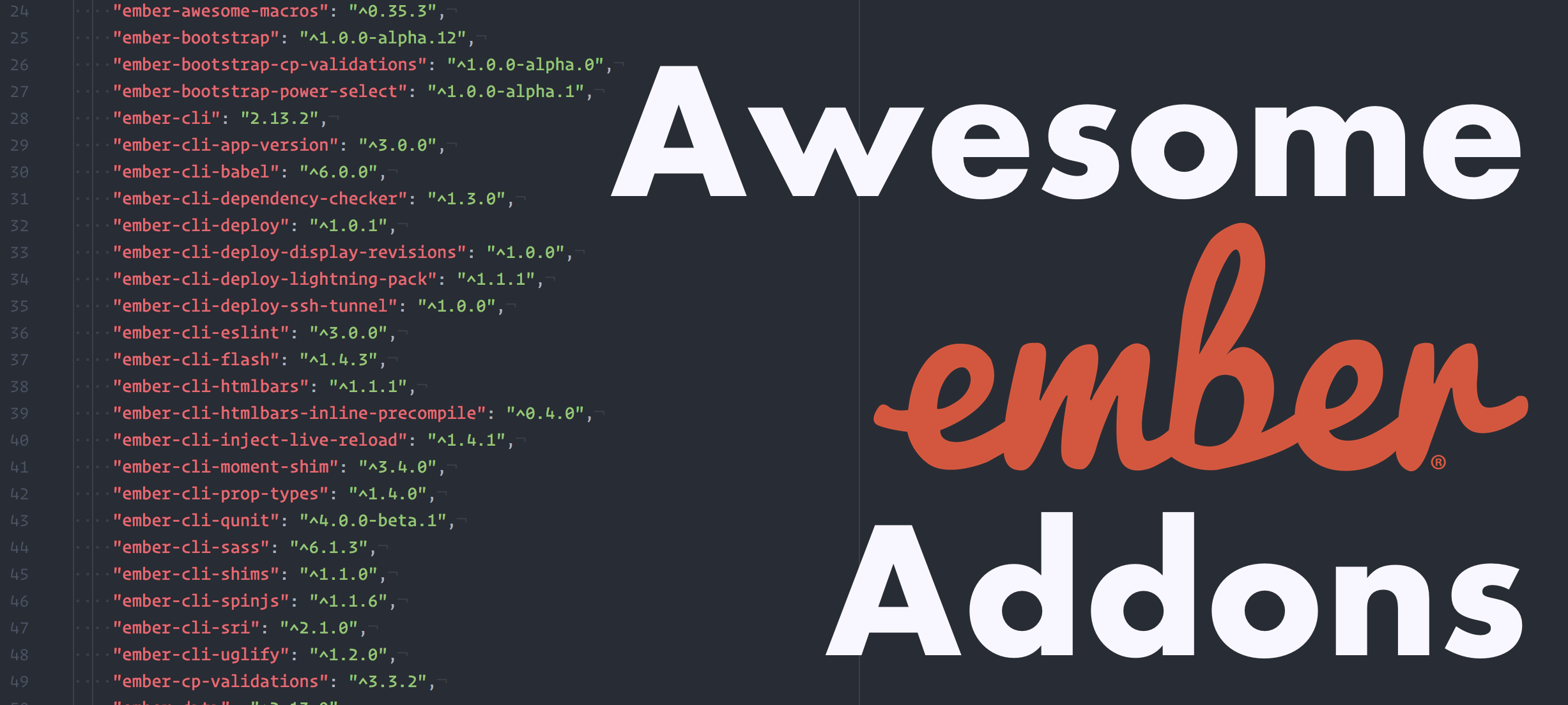 Awesome EmberAddons