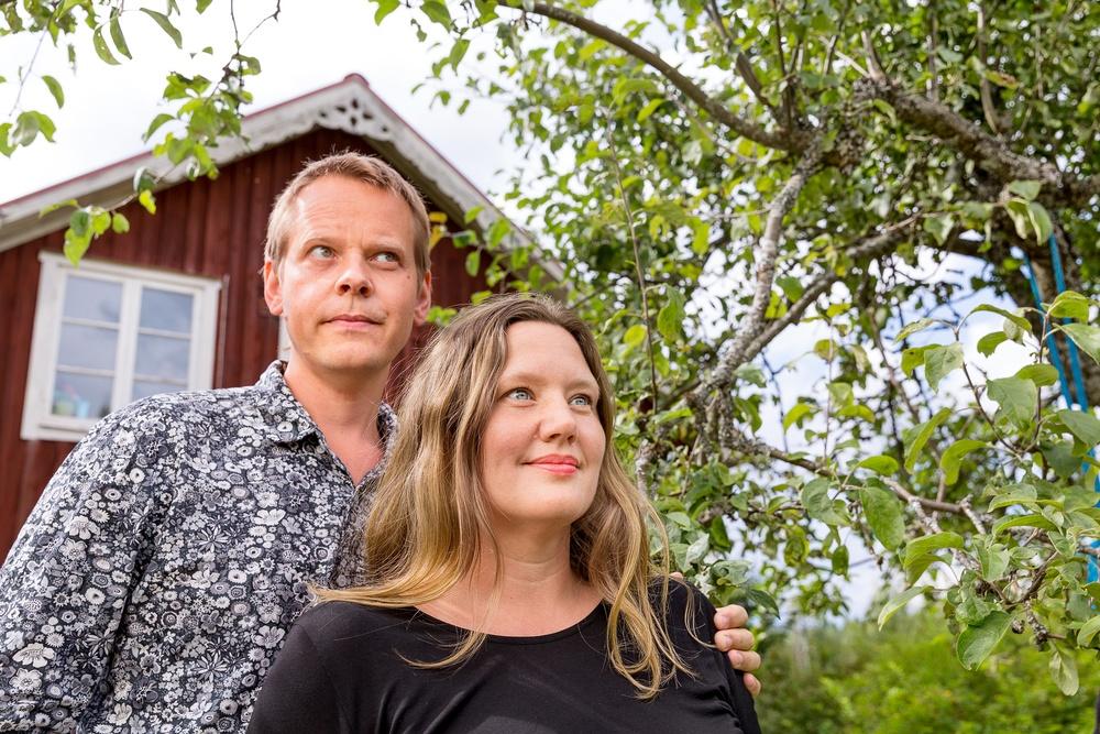 Ola Rosling & Anna Rosling Rönnlund Foto: Jann Lipka