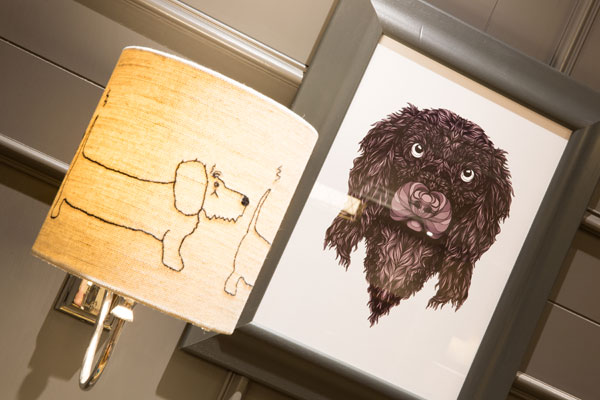 Lodore Falls hotel, dedicated doggy areas