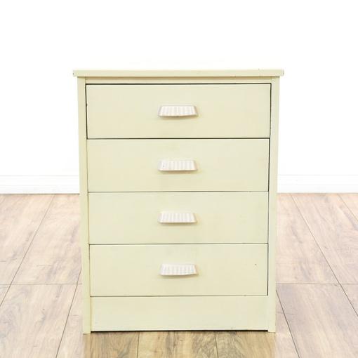 Shabby Chic Small White 4 Drawer Dresser