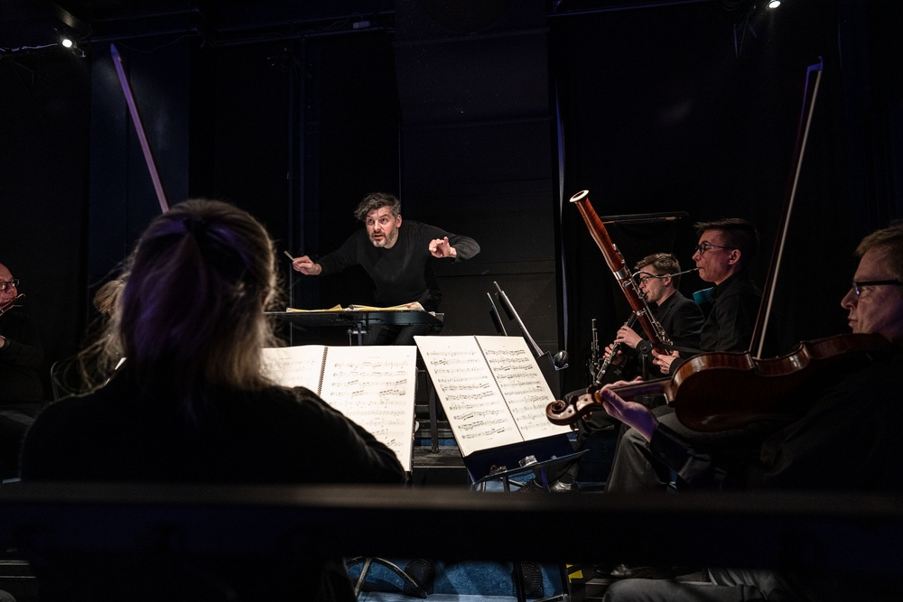 Johannes Gustavsson med Wermland Operas orkester