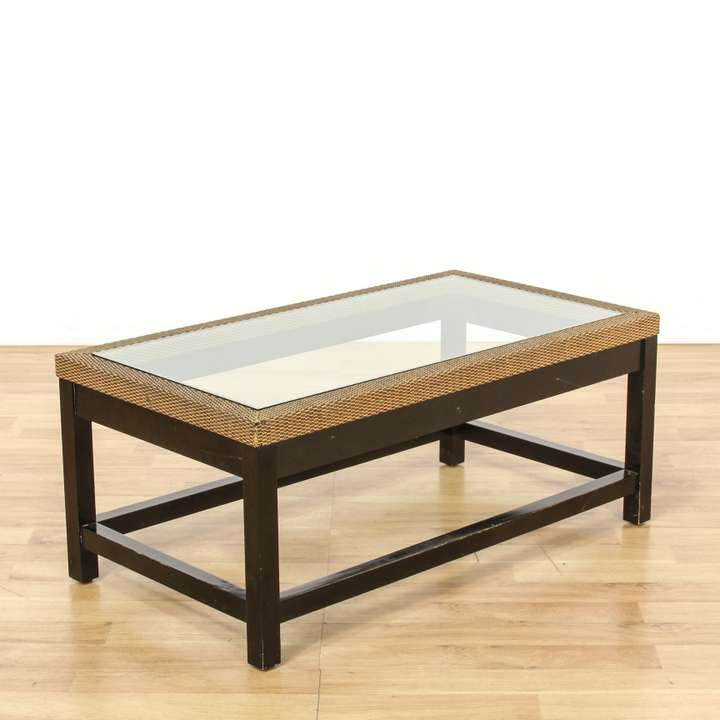 Double sided 10 drawer campaign style coffee table for 60s style coffee table