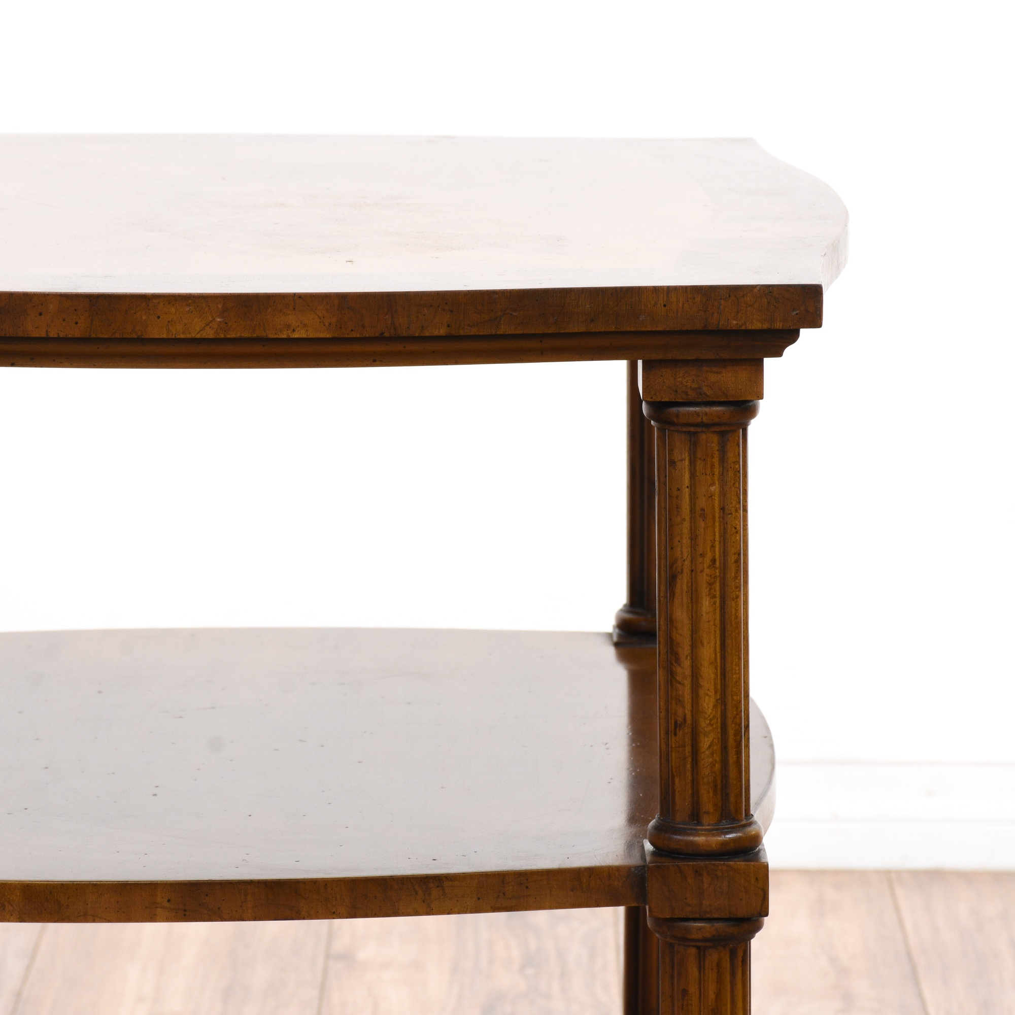 Pair Of Quot Drexel Heritage Quot Tiered End Tables Loveseat