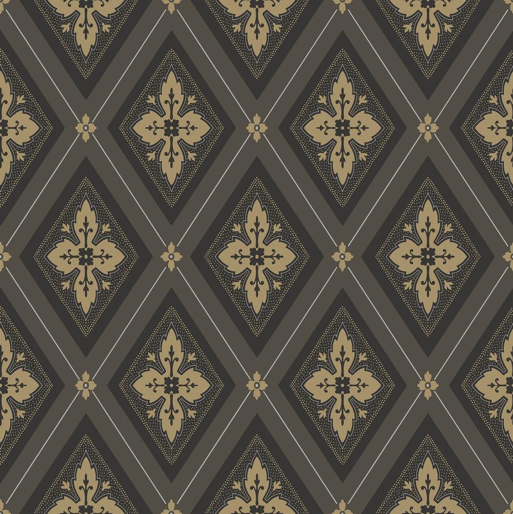 692-04 Astrid svart/guld